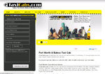 eTaxiCabs.COM taxi website design limo