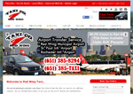 Red Wing Taxi.COM taxi website design limo