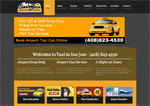 Taxi in San Jose.COM taxi website design limo